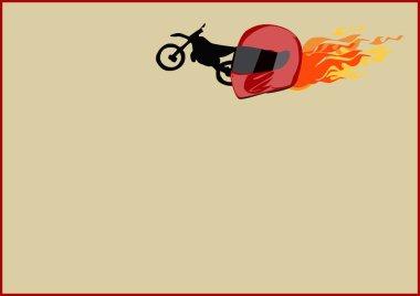 Motor helmet