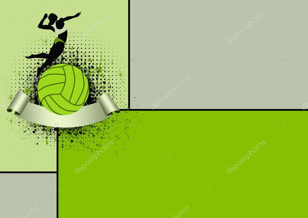 Abstract Grungy Background Volleyball Arrowhead Stock: Stock Fotó © IstONE_hun #19566677