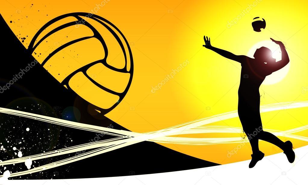 Volleyball Background Stock Photo 169 Istone Hun 25276335