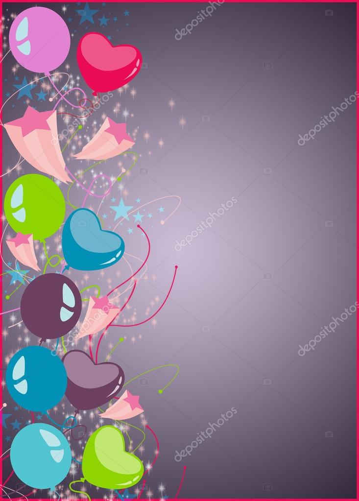 happy new year or birthday party background stock photo 35665787