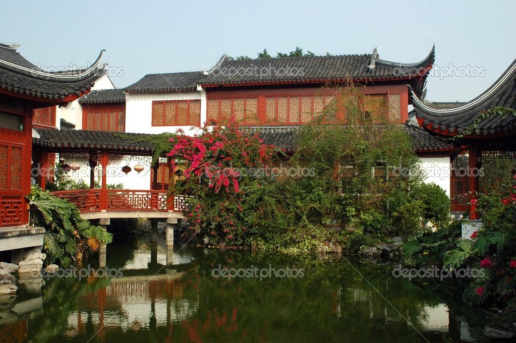 case tradizionali cinesi foto stock bartekchiny 20999815
