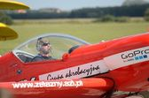 letecké show - akrobatické letadlo