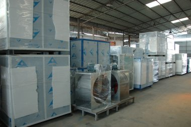 Spray booths factory in China