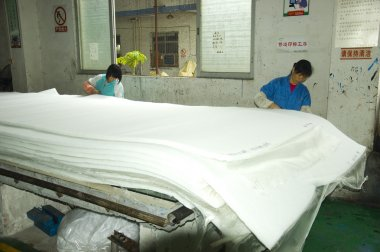 Air filter factory in China