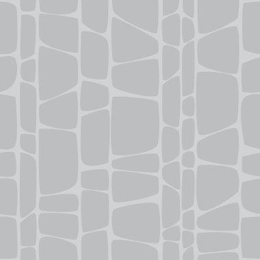Seamless pattern monochrome ornament