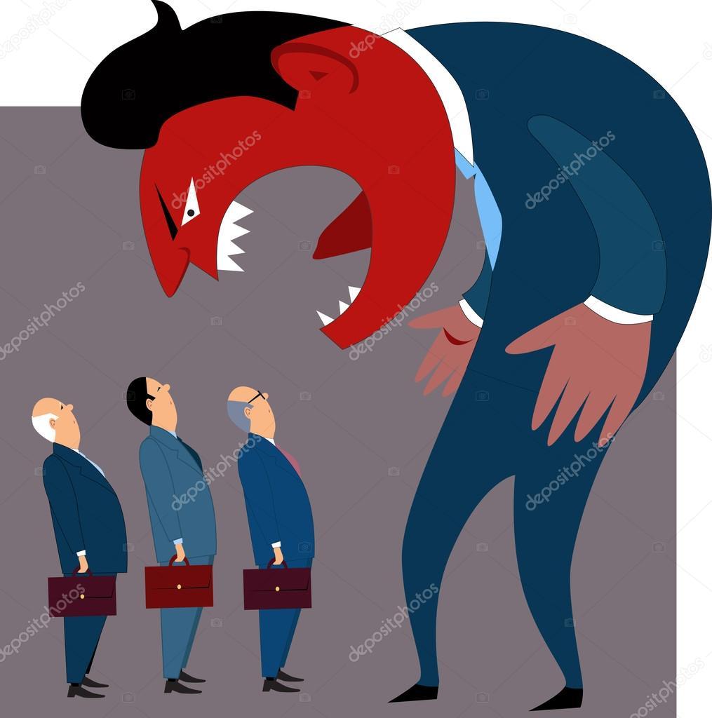 Anger Management Problems Stock Vector C Aleutie 42297961