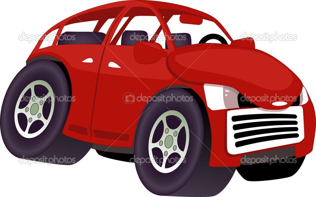 carro de desenho animado vetor de stock aleutie 45743655