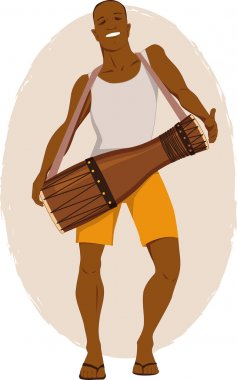 Bata drum musician