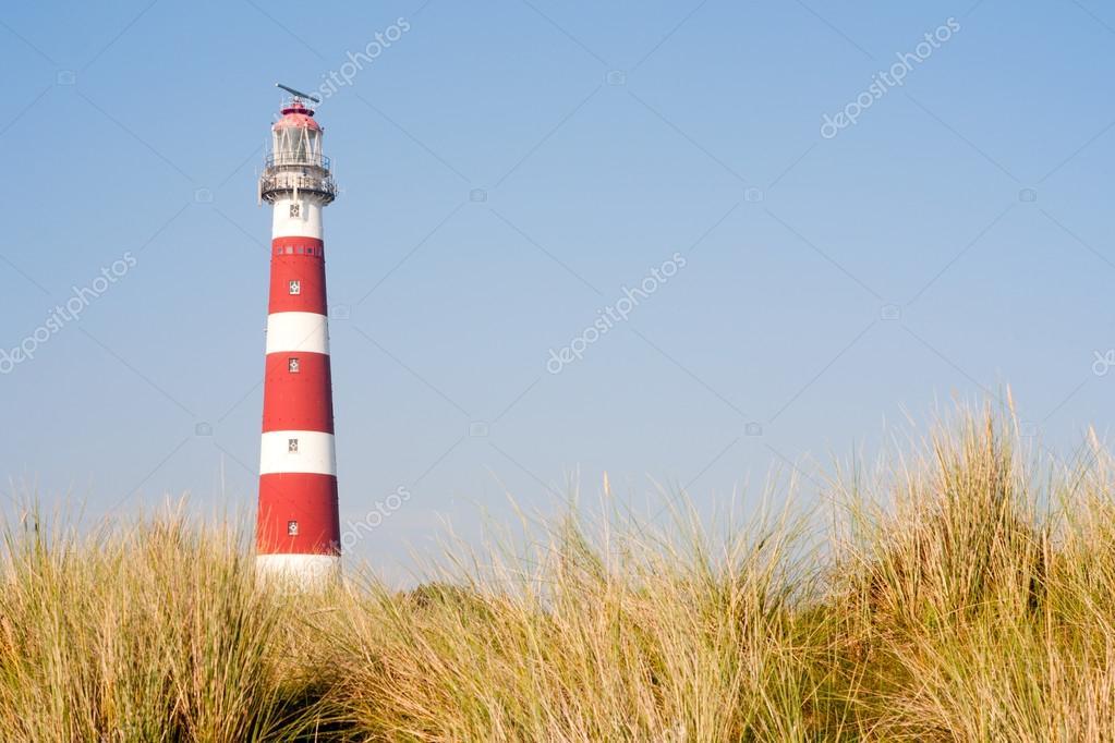 アーメラント島、オランダの砂丘...