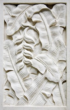 Traditional stone carving