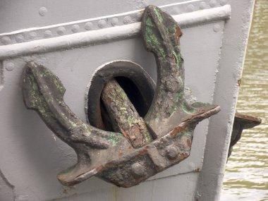 Anchor on a Dutch ship
