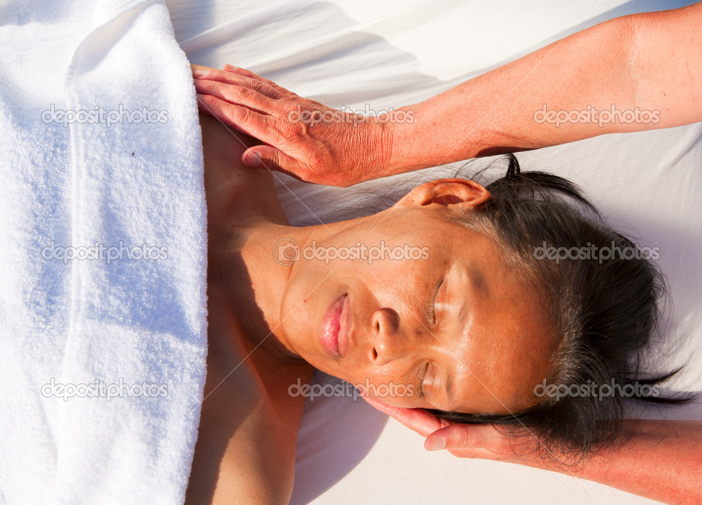 Japonská masáž masáž