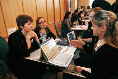 A job fair for graduates MPEI
