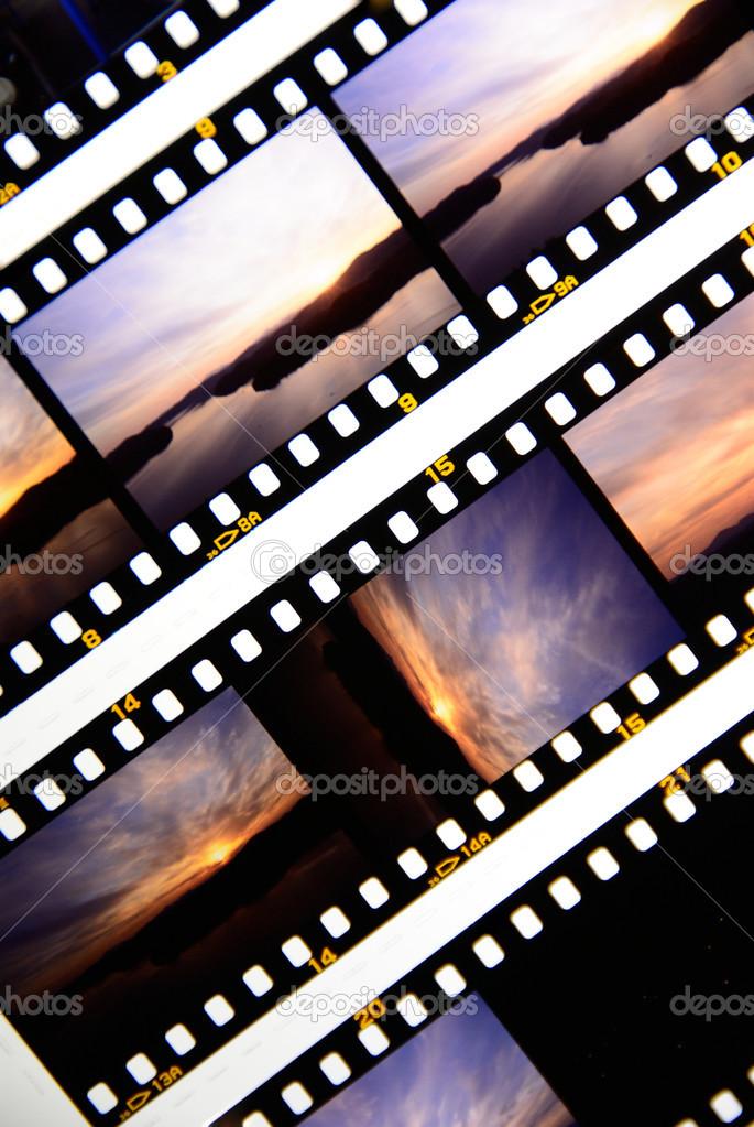 Positive Film — Stock Photo © jipen #20029027