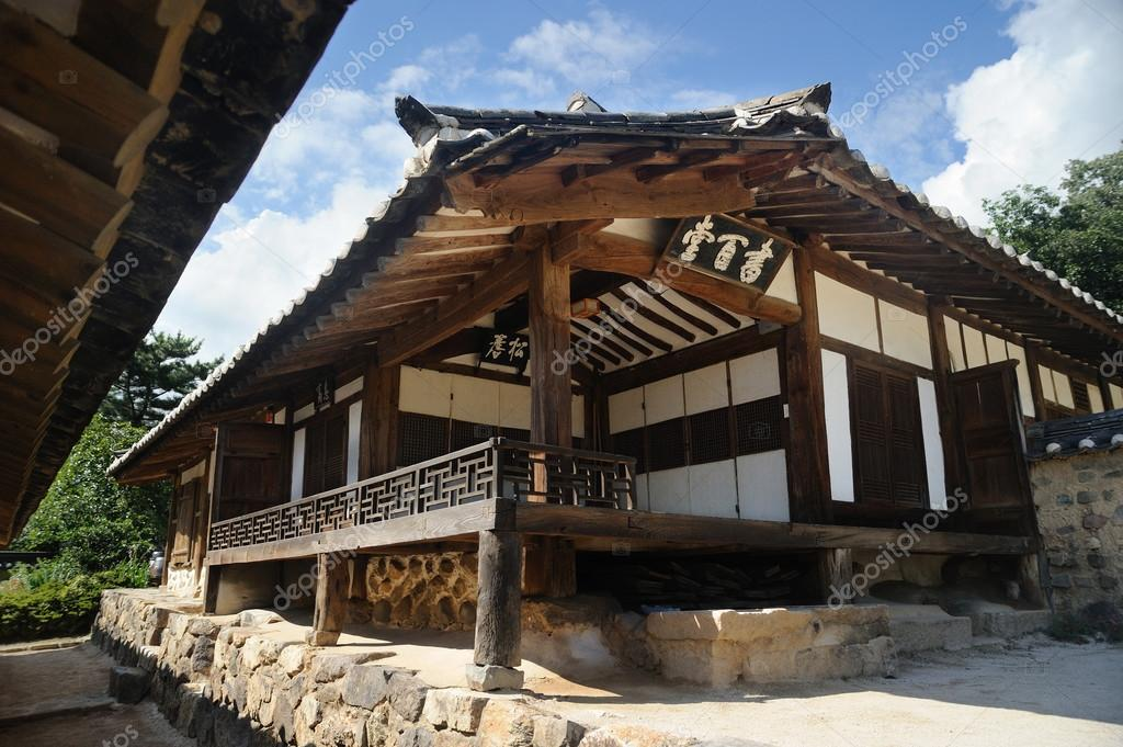 seobaekdang casa coreana tradizionale nel villaggio di