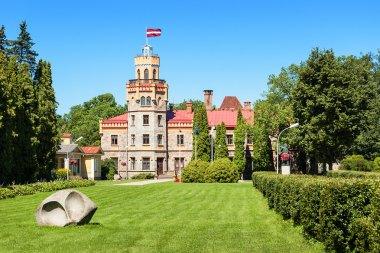 Sigulda Town Council in 19-th century castle, Latvia