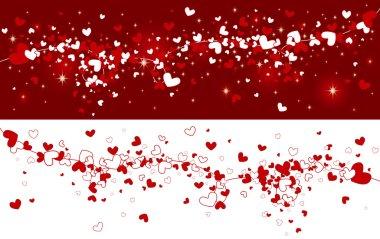 Valentines background clip art vector