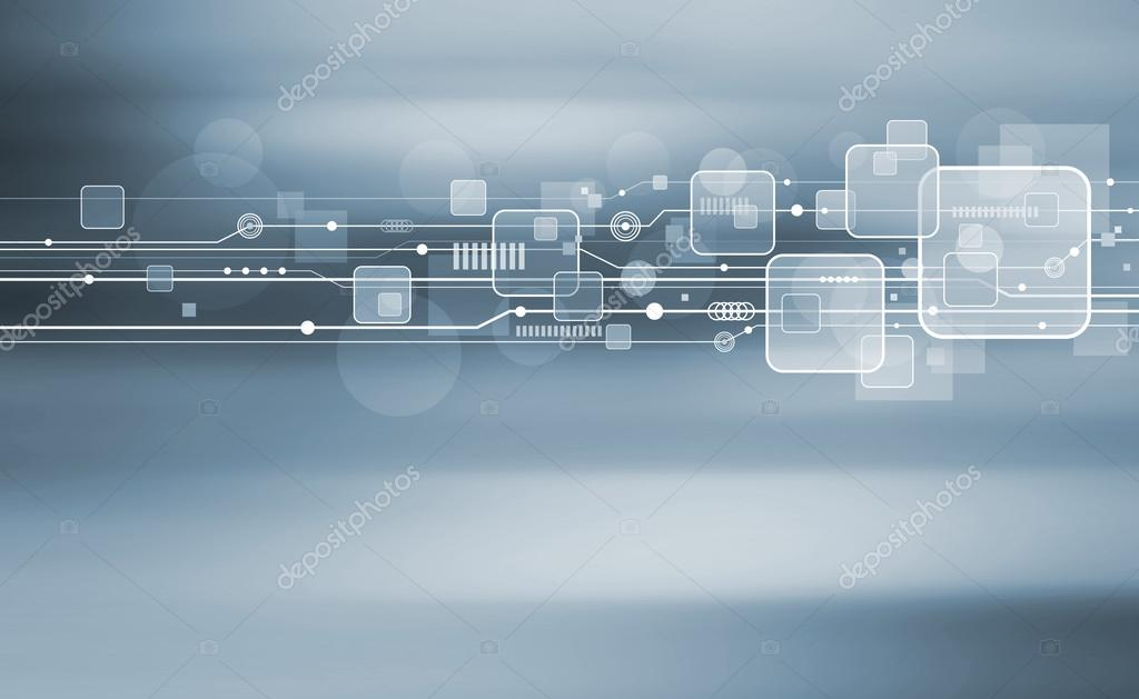 Technology background design