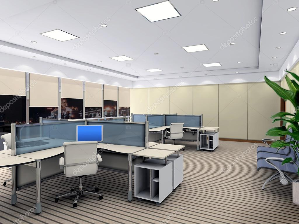 3d modern office room stock photo wxin67 19356847 for Office room pictures