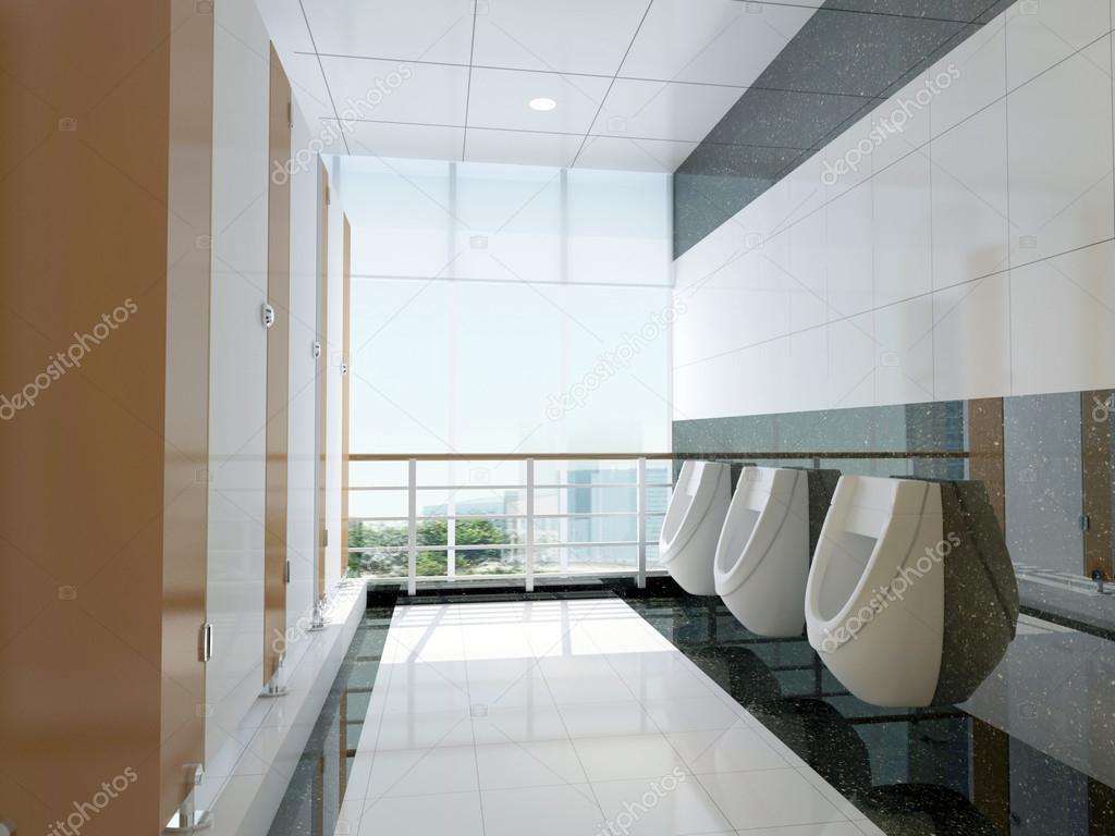 3d public bathroom — Stock Photo © wxin67 #20024559