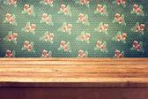 pozadí s prázdné dřevěné ceck tabulka