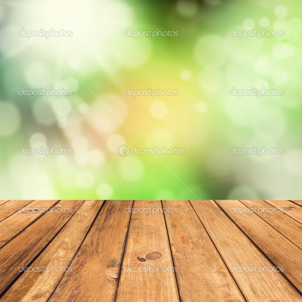 Vintage wooden planks