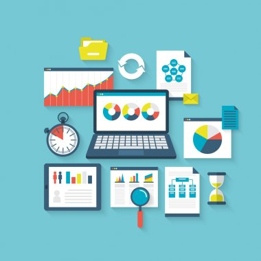 Concept of website search optimization