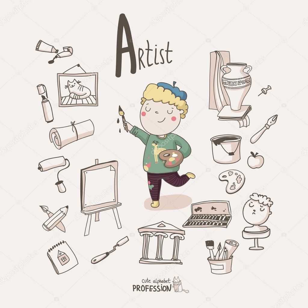 Artist boy.