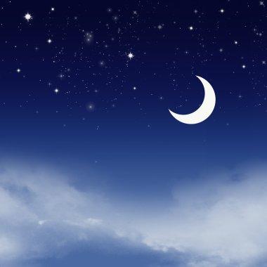 Night sky with