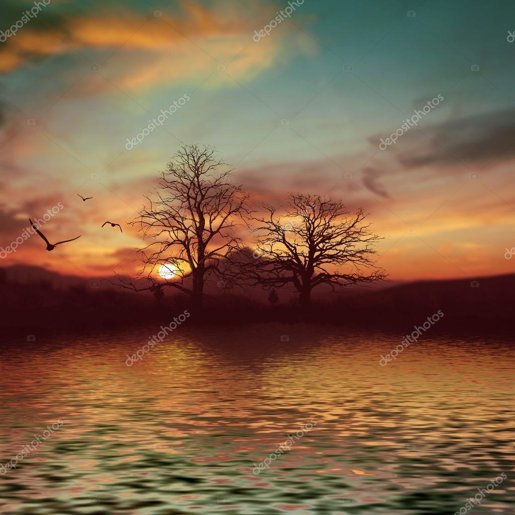 Фотообои Красивый пейзаж