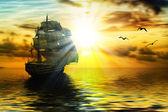 Fotografie segelbåt