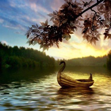 """Картина, постер, плакат, фотообои """"красивый пейзаж печать фото"""", артикул 47855945"""