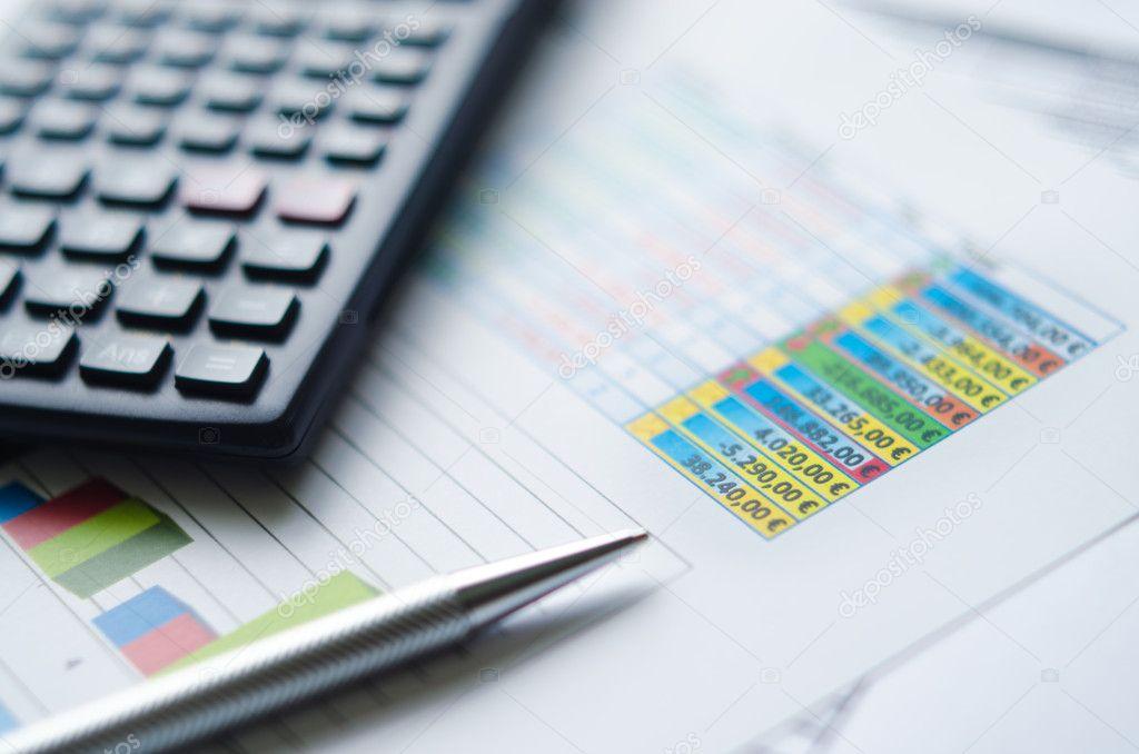 einfache Finanzierung Arbeitsblatt — Stockfoto © MarcoAndrade #21449667