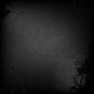 abstract black background, grunge background texture design. Vec