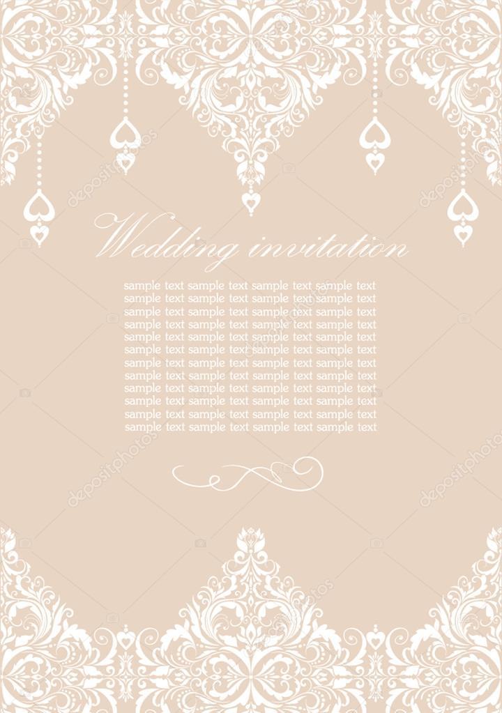 Hochzeit Postkarte — Stockvektor © antonovaolena #19475263