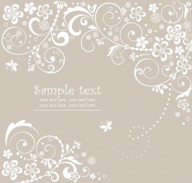 Wedding card clip art vector