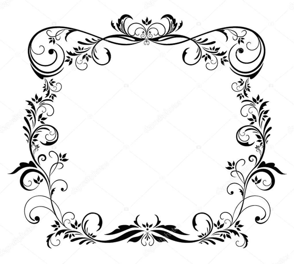 schwarzer Rahmen — Stockvektor © antonovaolena #21261313
