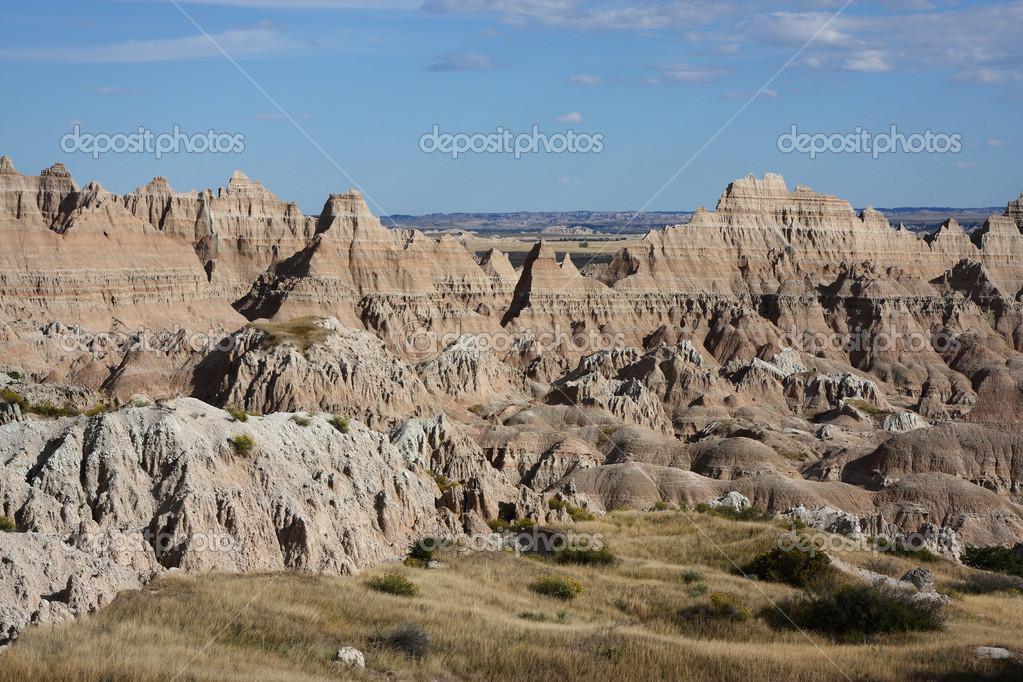 Rocks in the Badlands