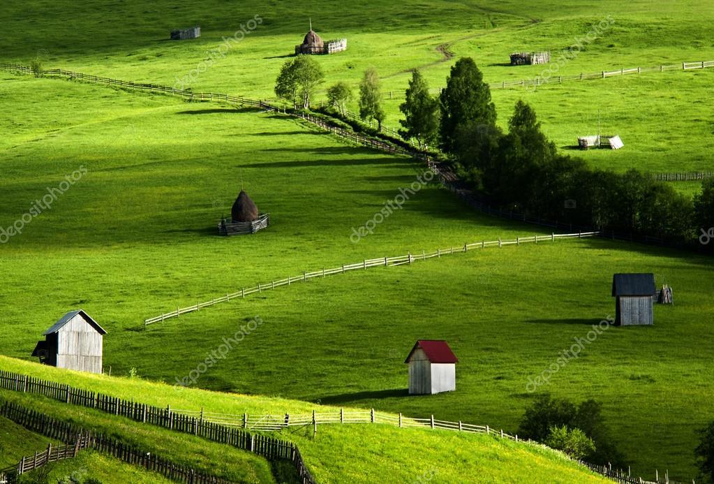 Amazing landscape in North of Romania