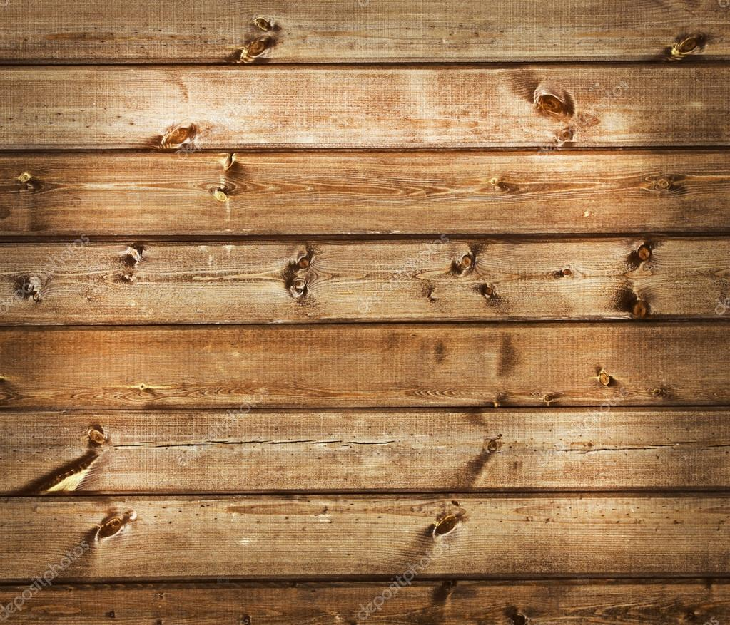 Wooden plank background. Simple wooden planks with a branches.