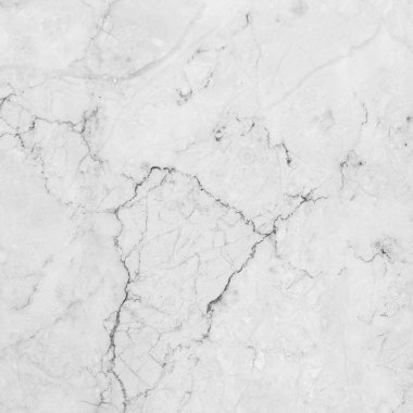 Marble. White marble with natural pattern.