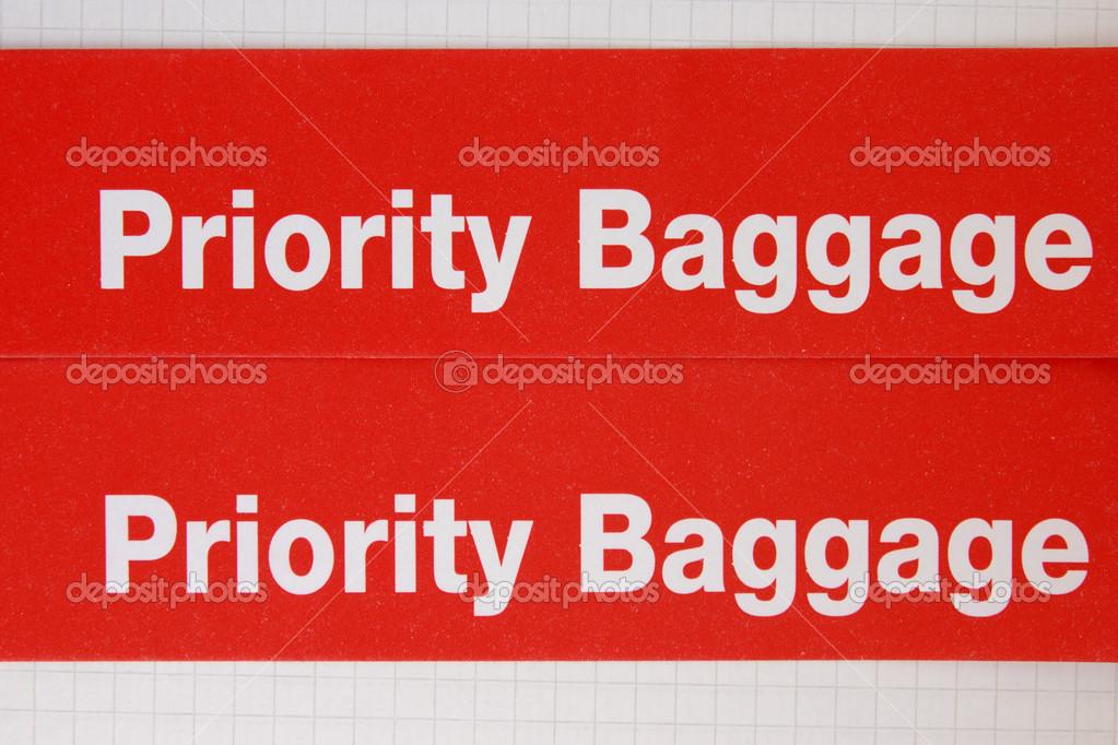 Label priority — Stock Photo © Alexeybykov #47620705