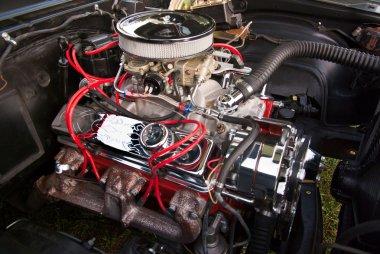 Custom Car Engine Detail