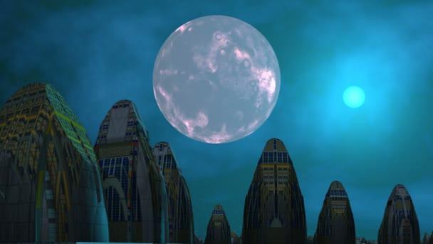 Idegenek, a Hold és az Ufo várost
