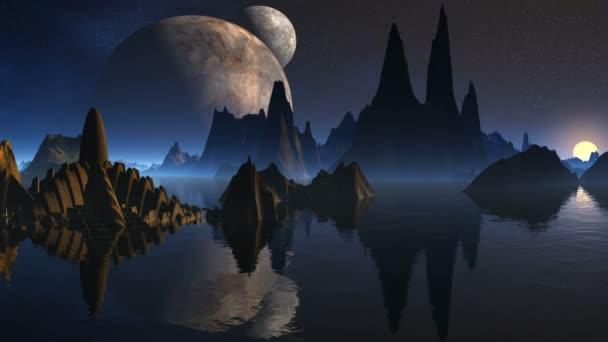 A külföldiek, és három hold torony