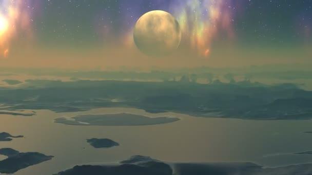 létání nad divoká planeta