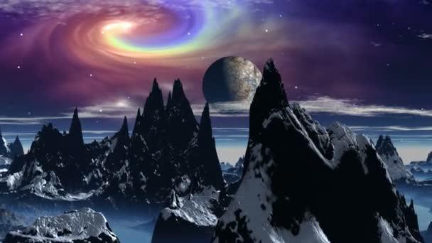 planety a kosmický vír