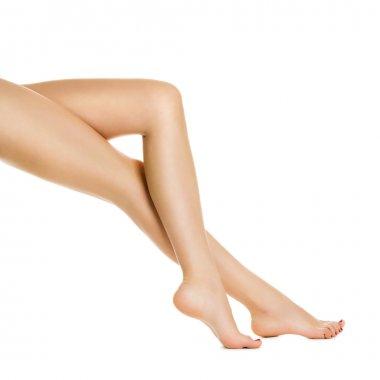 Women's slender legs