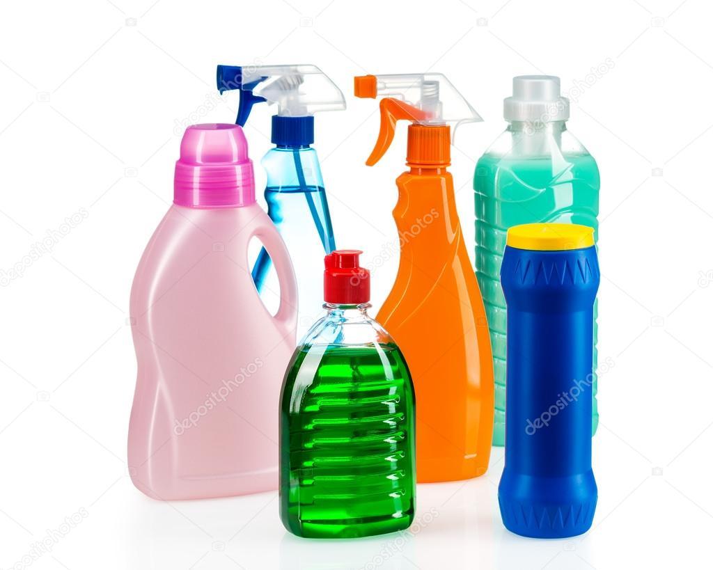 Envase de pl stico producto limpieza para la casa limpia sobre fondo blanco foto de stock - Agencias de limpieza barcelona ...