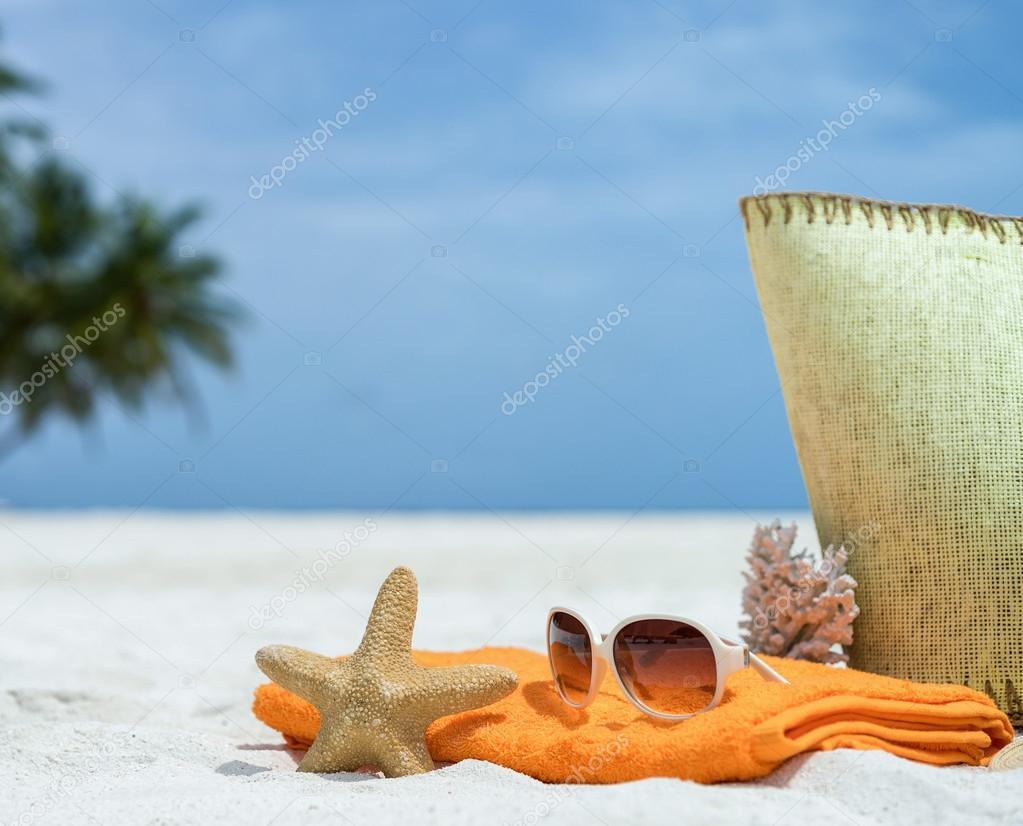 bolsa de playa con estrella de mar a237ddac4bb